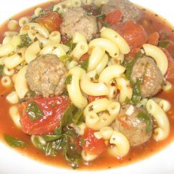 Healthy Hearty Italian Wedding Soup