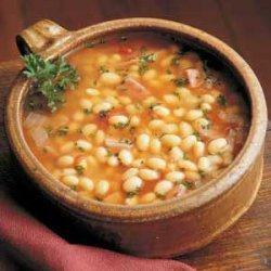 Navy Bean Soup With Ham Ala Leah recipe
