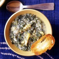 Potato Spinach And Artichoke Soup