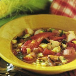 Smoky Corn And Lobster Stew
