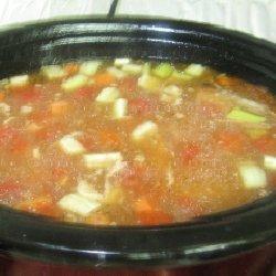 Turkey Veggie Homemade Soup