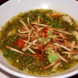 Green Chili Chicken Tortilla Soup recipe