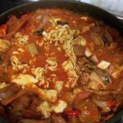 Budae Jjigae Army Base Stew