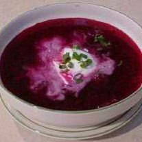 Old Fashioned Beet Borscht