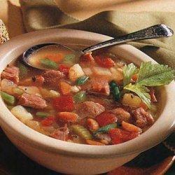 Smoked Ham Barley And Vegetable Soup