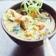 Asian Crab And Corn Noodle Soup