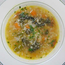 Swiss Chard Barley And Cannellini Bean Soup