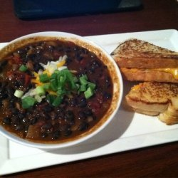 Steak And Black Bean Chili recipe
