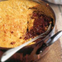 Cornbread Topped Chilli Con Carne recipe