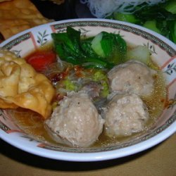 Indonesian Meatballs  Bakso recipe