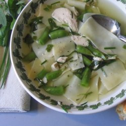 Chicken Noodle Soup With Fresh Herbs recipe