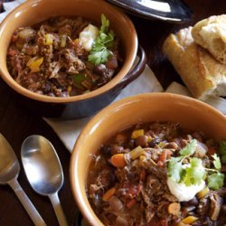 Slow Braised Carnitas Chili