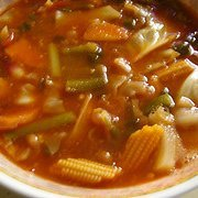 Hot Sour Vegetable Soup