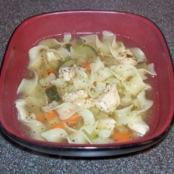 Faiths Healthy Chicken Noodle Soup