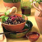 Turkey Black Bean Chili With Ancho Salsa recipe