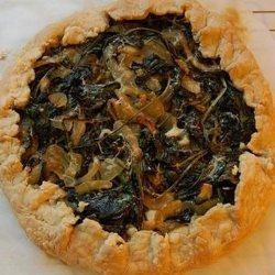 Goat Cheese and Leek Galette
