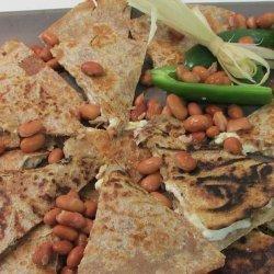Pinto Bean and Feta Cheese Quesadillas