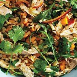 Curried Spelt Salad recipe
