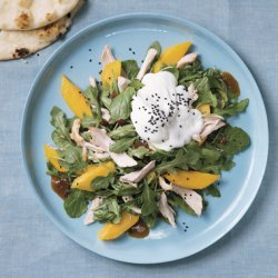 Roast Chicken and Mango Salad with Yogurt recipe