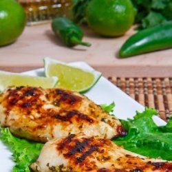 Grilled Tequila-Lime Chicken
