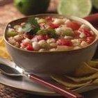 Green Chile Posole Soup