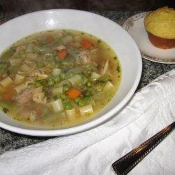Left-overs Turkey Soup recipe