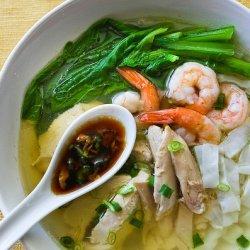 Malasian Chicken Noodle Soup