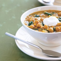 Chickpealentil And Bean Soup