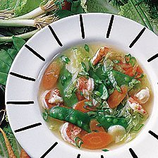 Chinese-style Shrimp Soup