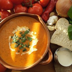 Cream Of Tomato And Basil Soup