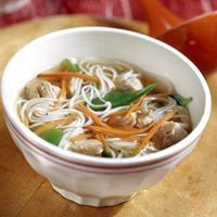 Ginger-chicken Noodle Soup