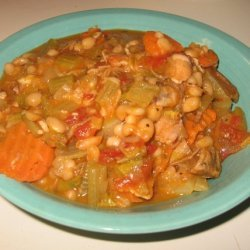 White Bean Pork Roast Soup recipe