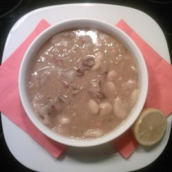 Fasolada Me Chirino Bean Broth With Pork recipe