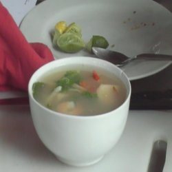 Thai Hot And Sour Prawn Soup - Tom Yam Goong