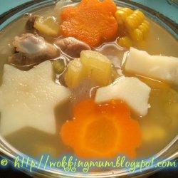 Pork Ribs With Vegetables Aka Abc Soup