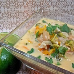 Creamy And Crabby Thai Soup