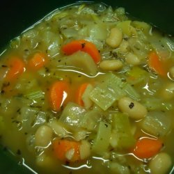 Rustic White Bean Soup