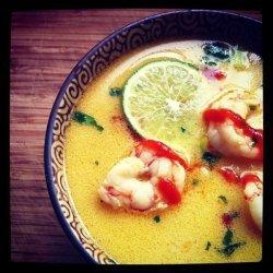 Coconut Curry Shrimp Ramen