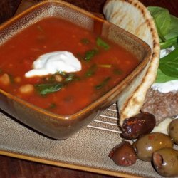 Greek Wheatberry Stew