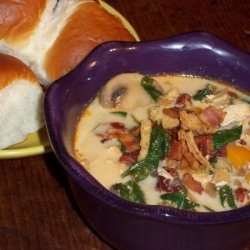 Kickin' Creamy Chicken Soup