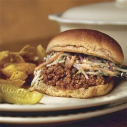 Sloppy Jose Sandwiches With Cilantro Slaw