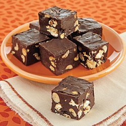 Popcorn and Peanut Fudge