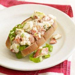 Lemon-Tarragon Lobster Roll recipe
