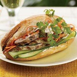 Grilled-Chicken Banh Mi recipe