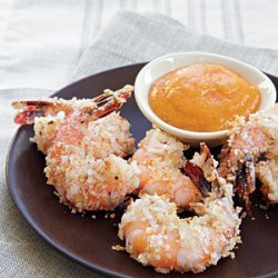 Coconut Shrimp with Mango Sauce