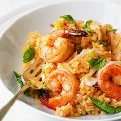 Chili Shrimp and Coconut Risotto recipe