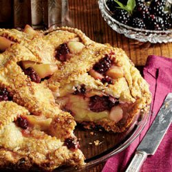 Blackberry-Apple Pie recipe