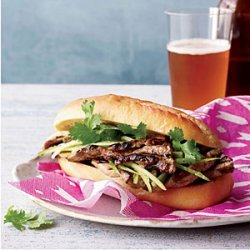 Grilled-Pork Banh Mi recipe