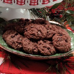 German Chocolate Cake Mix Cookies