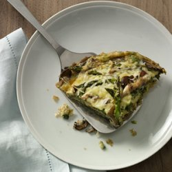 Asparagus-and-Mushroom Frittata